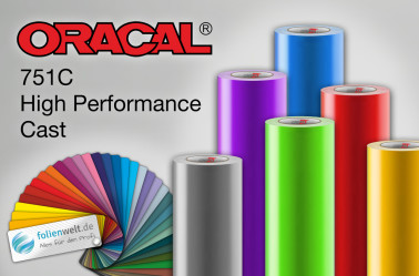 Foto: Oracal 751C High Performance Cast